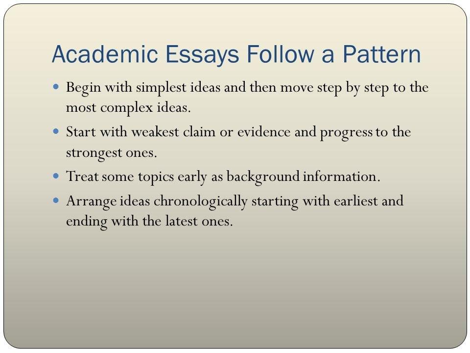Essay Form and Structure MLA - ppt video online download