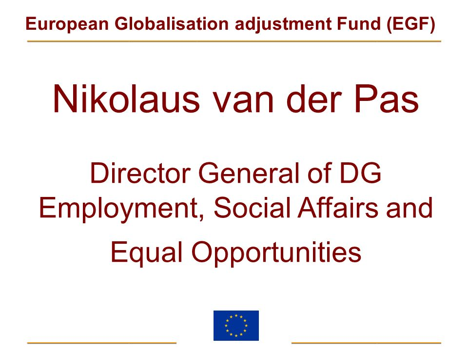 Employment, Social Affairs and Equal Opportunities
