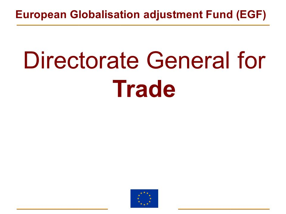 Directorate General for Trade