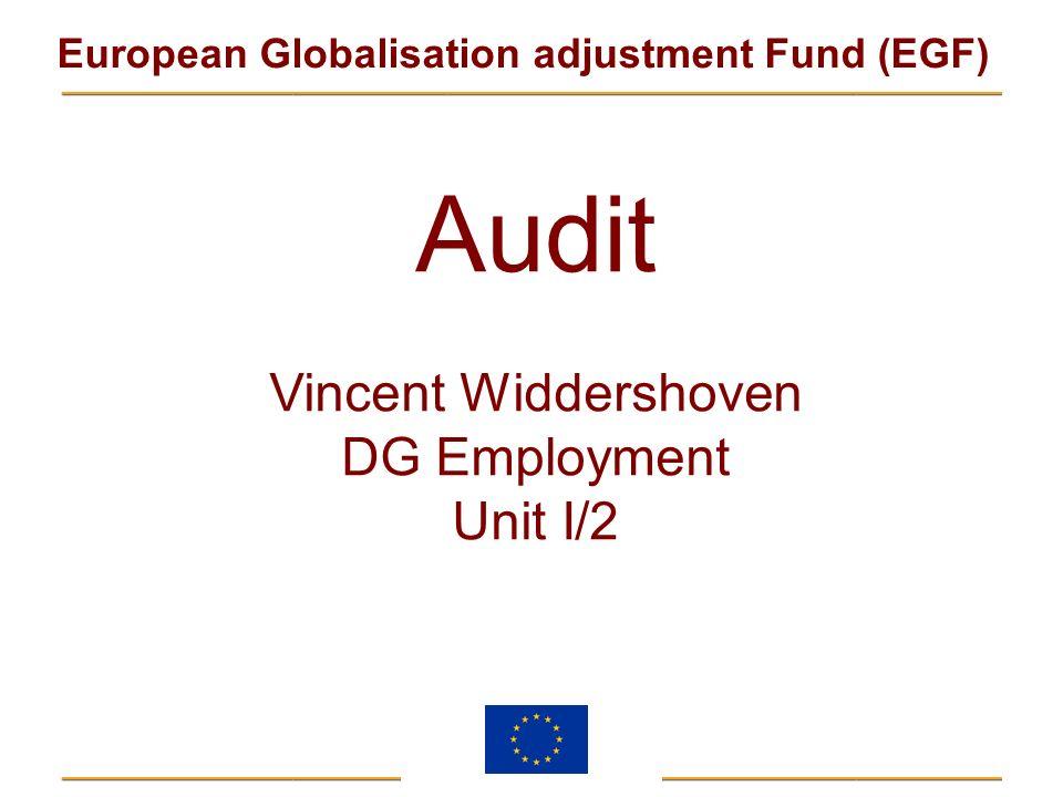 Vincent Widdershoven DG Employment