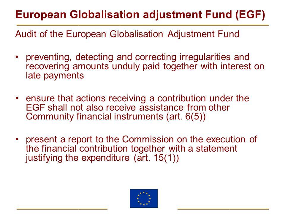 Audit of the European Globalisation Adjustment Fund