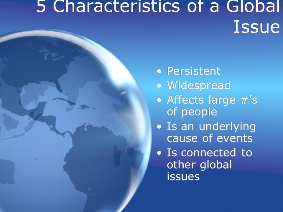 global issues 1 1 introduction to global issues vinay bhargava m ore than at any other time in history, the future of humankind is being shaped by issues.