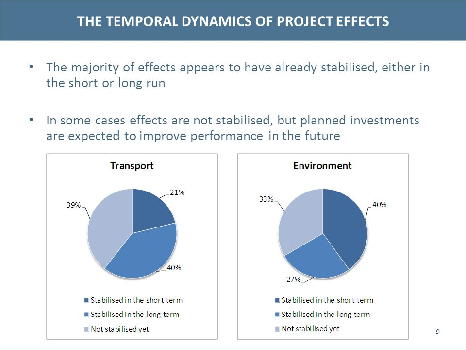 THE TEMPORAL DYNAMICS OF PROJECT EFFECTS