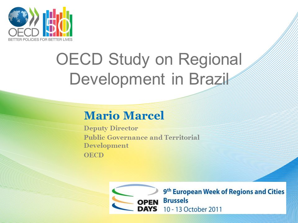 OECD Study on Regional Development in Brazil