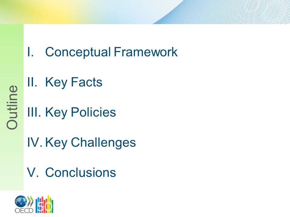 Outline Conceptual Framework Key Facts Key Policies Key Challenges