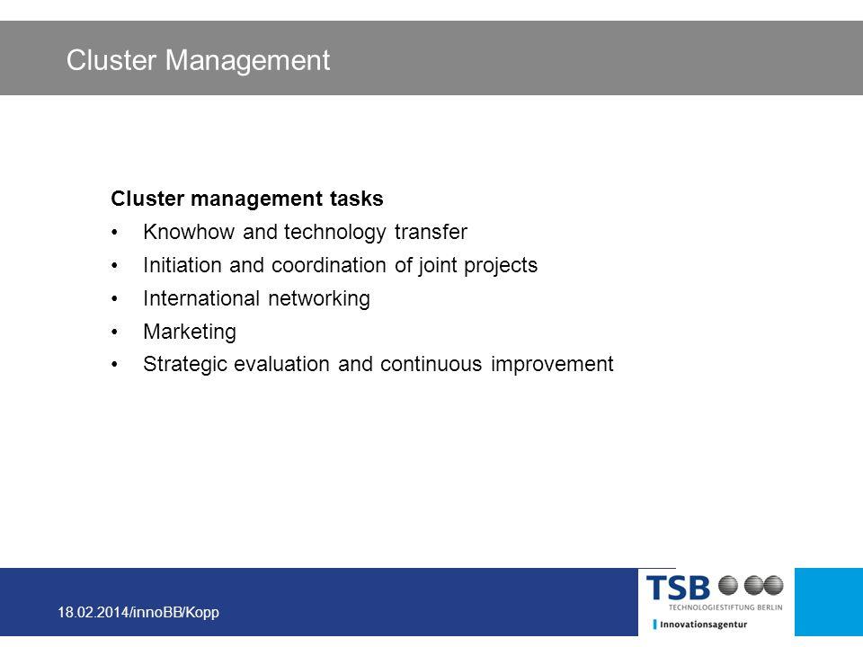 Cluster Management Cluster management tasks