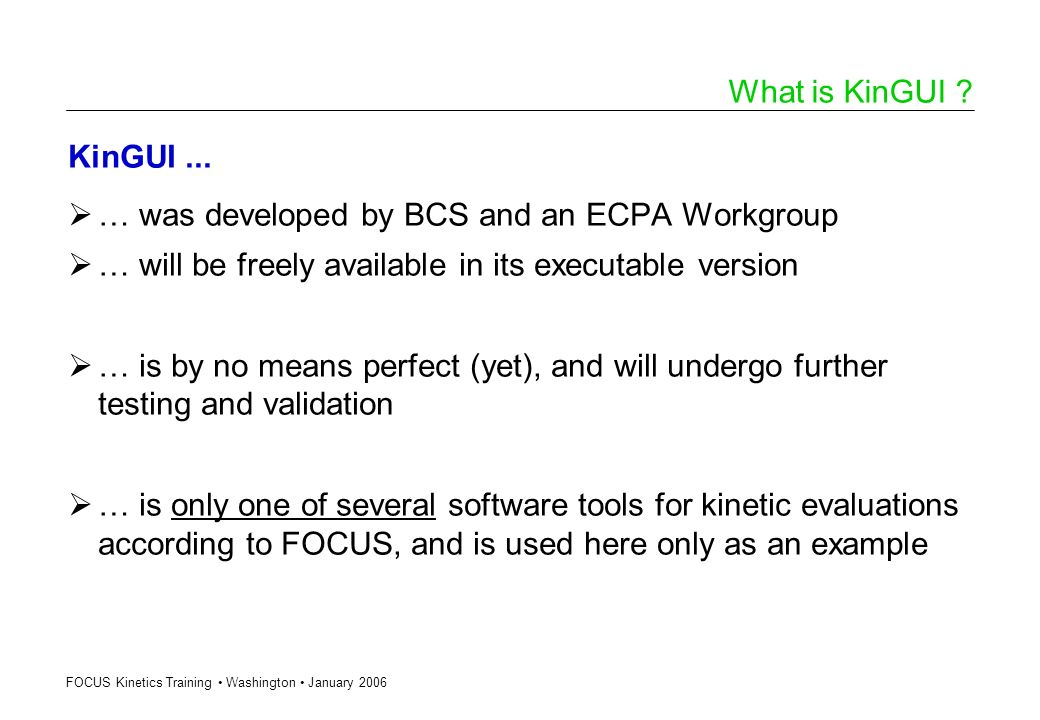… was developed by BCS and an ECPA Workgroup