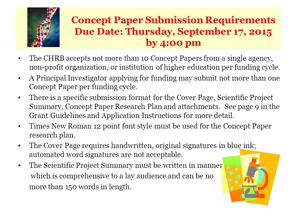 key concept research paper In this part of the lesson, students should write an essay based on one of two   the key concepts involved in the issue and to guide them in writing their essay   in the case of genetic research, it is human tissue that has not been modified by.