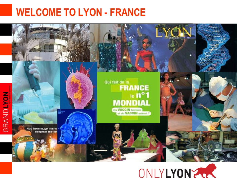 WELCOME TO LYON - FRANCE
