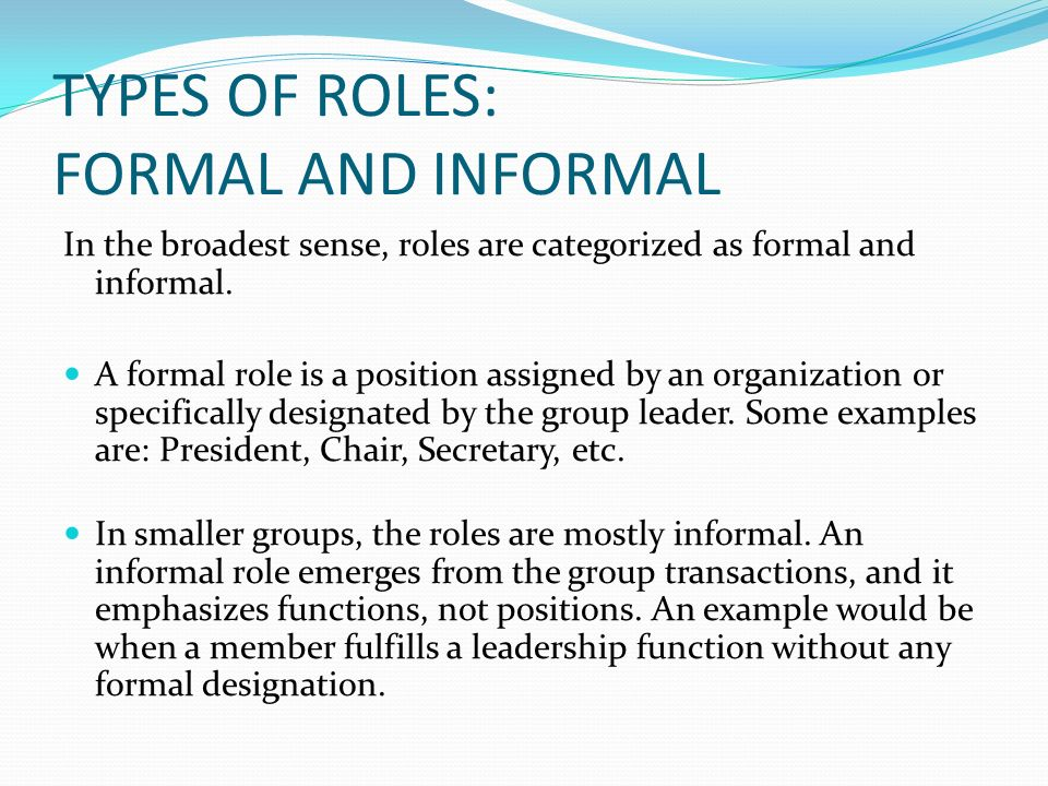 formal and informal organization In addition to formal organizational structures, an organization may also have a  hidden side that doesn't show up on its organizational chart this hidden infor.