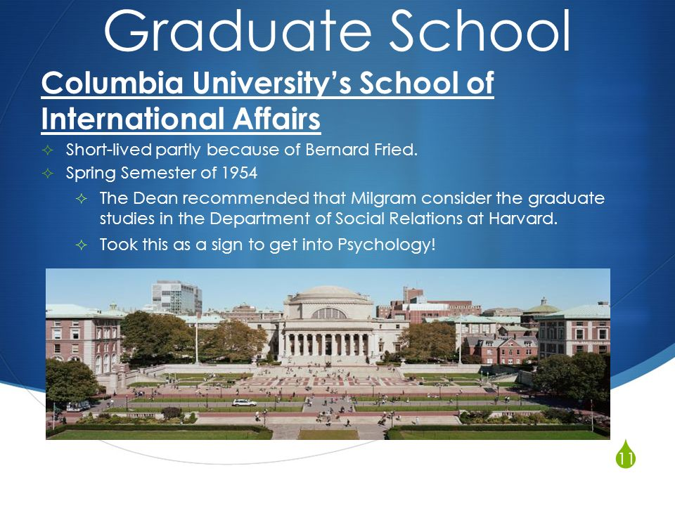 Psychology - Teachers College, Columbia University
