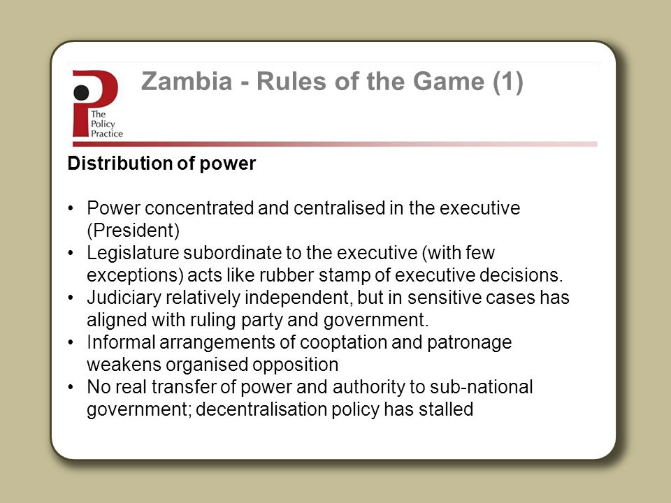 Zambia - Rules of the Game (1)