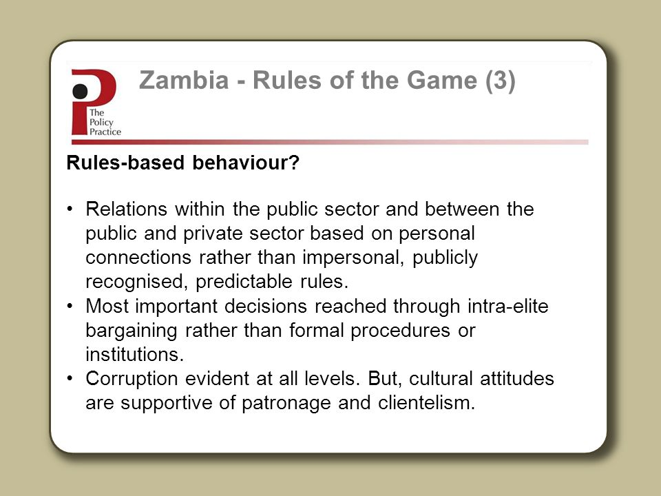 Zambia - Rules of the Game (3)