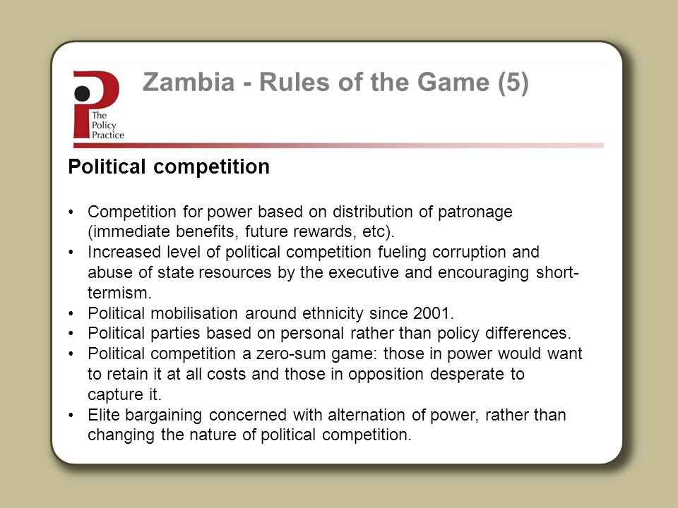 Zambia - Rules of the Game (5)
