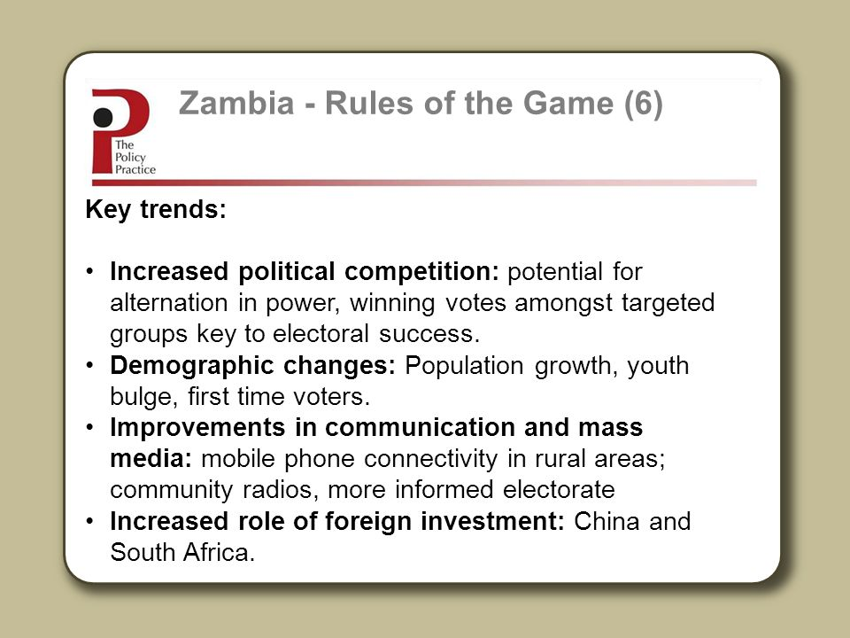 Zambia - Rules of the Game (6)