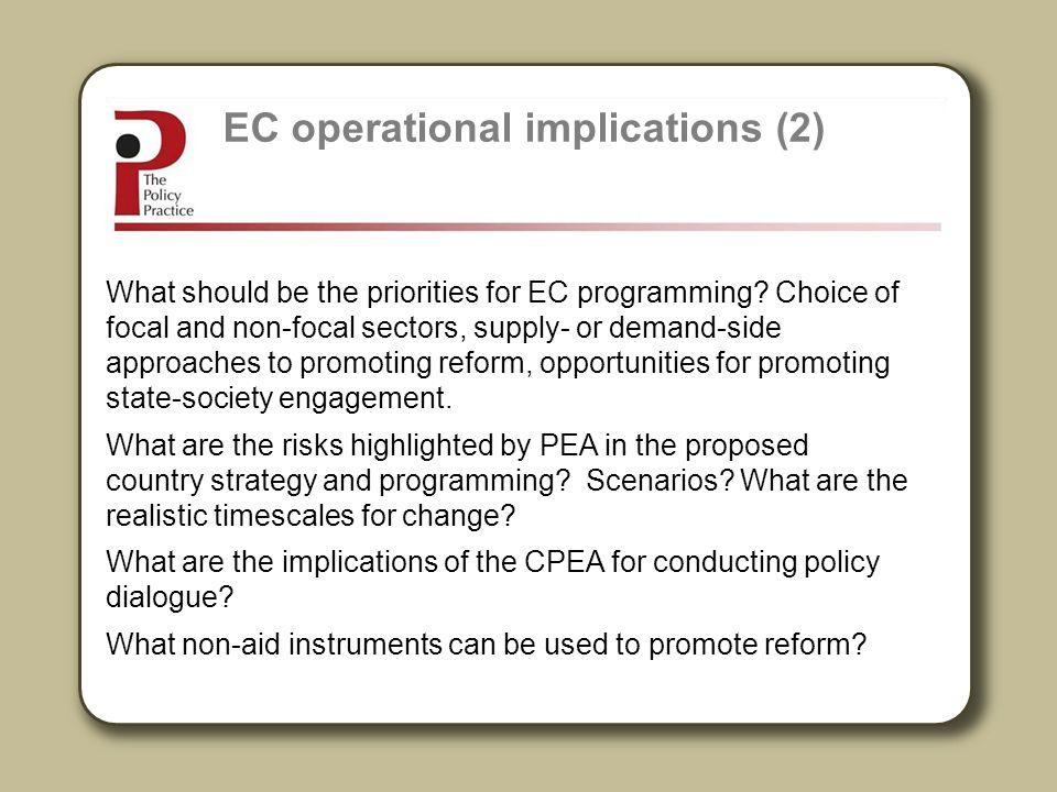EC operational implications (2)