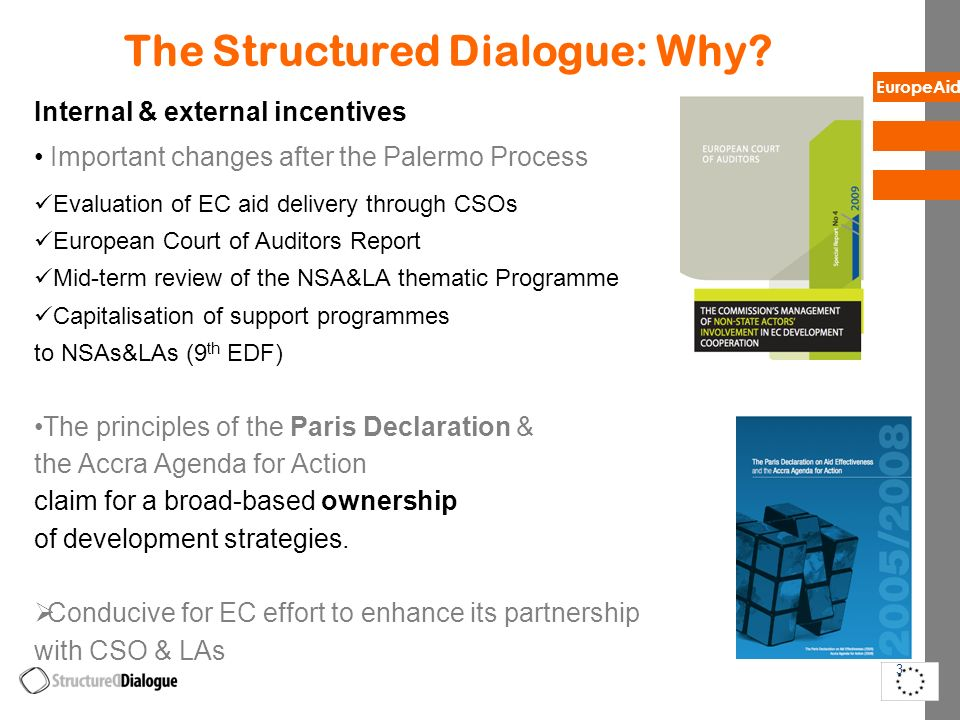 The Structured Dialogue: Why