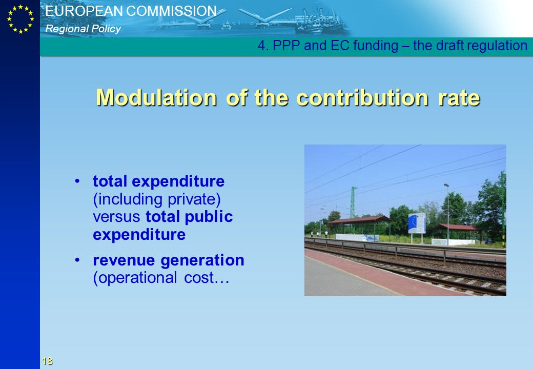 Modulation of the contribution rate