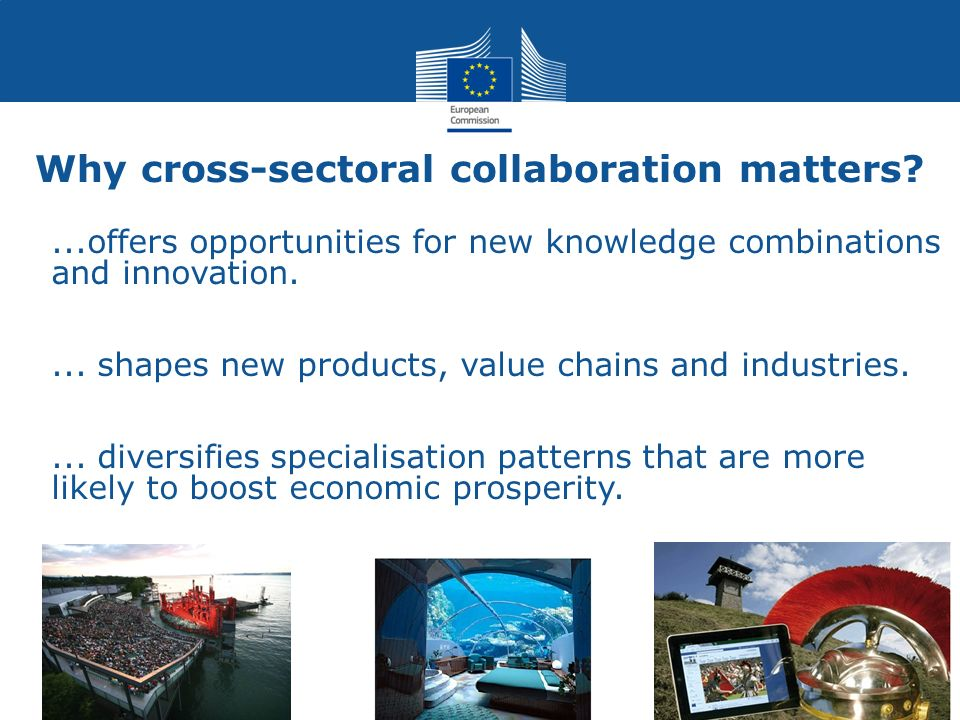 Why cross-sectoral collaboration matters