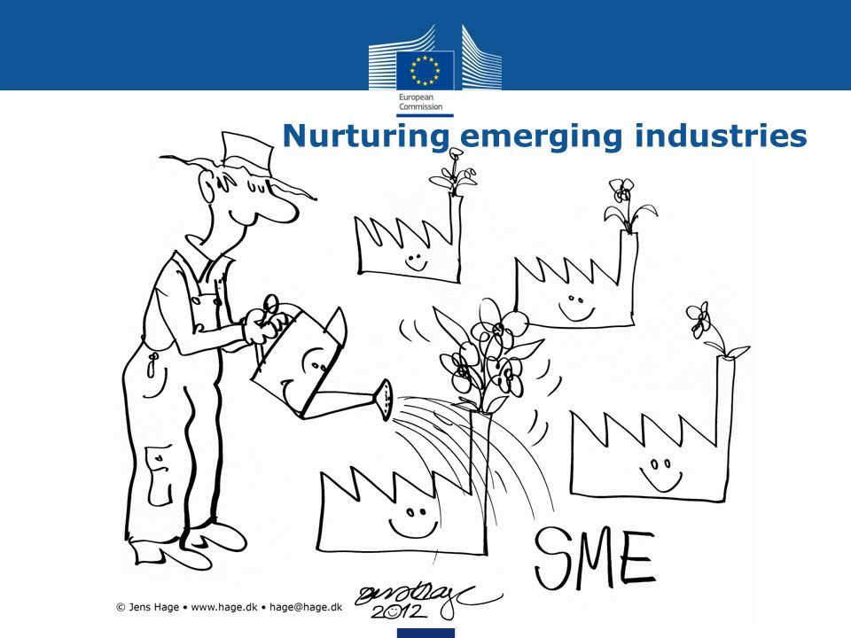 Nurturing emerging industries