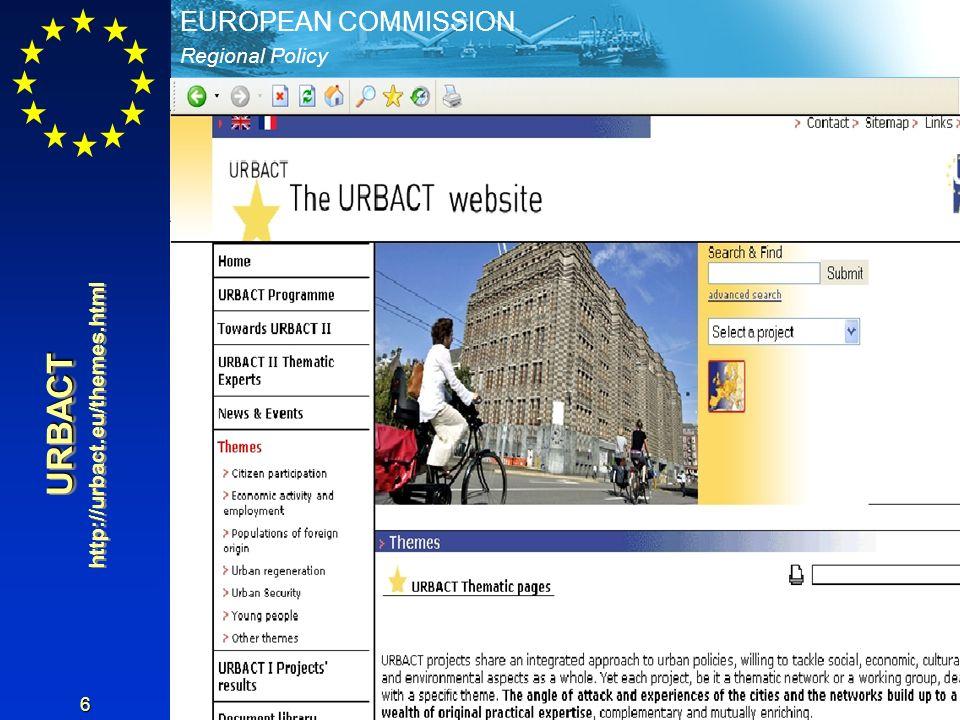 http://urbact.eu/themes.html URBACT