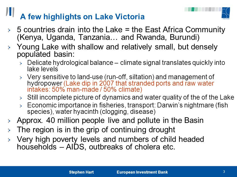 A few highlights on Lake Victoria