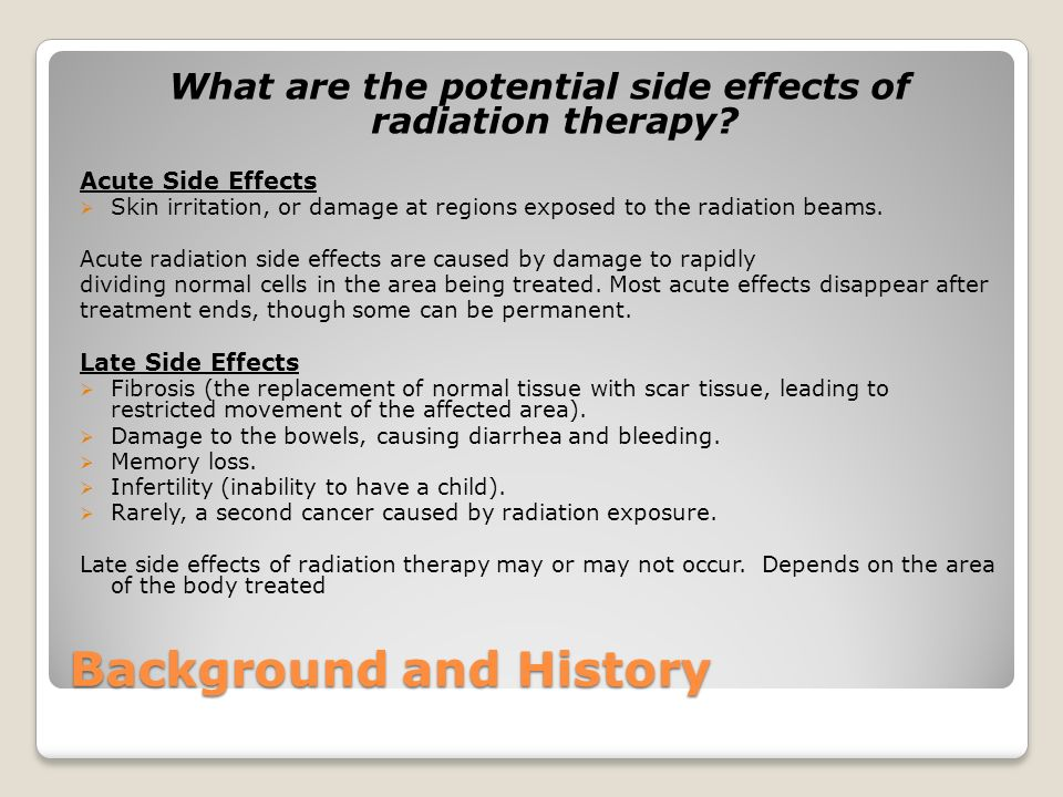 Case Study Radiation Therapy And Ultrasound Management Of