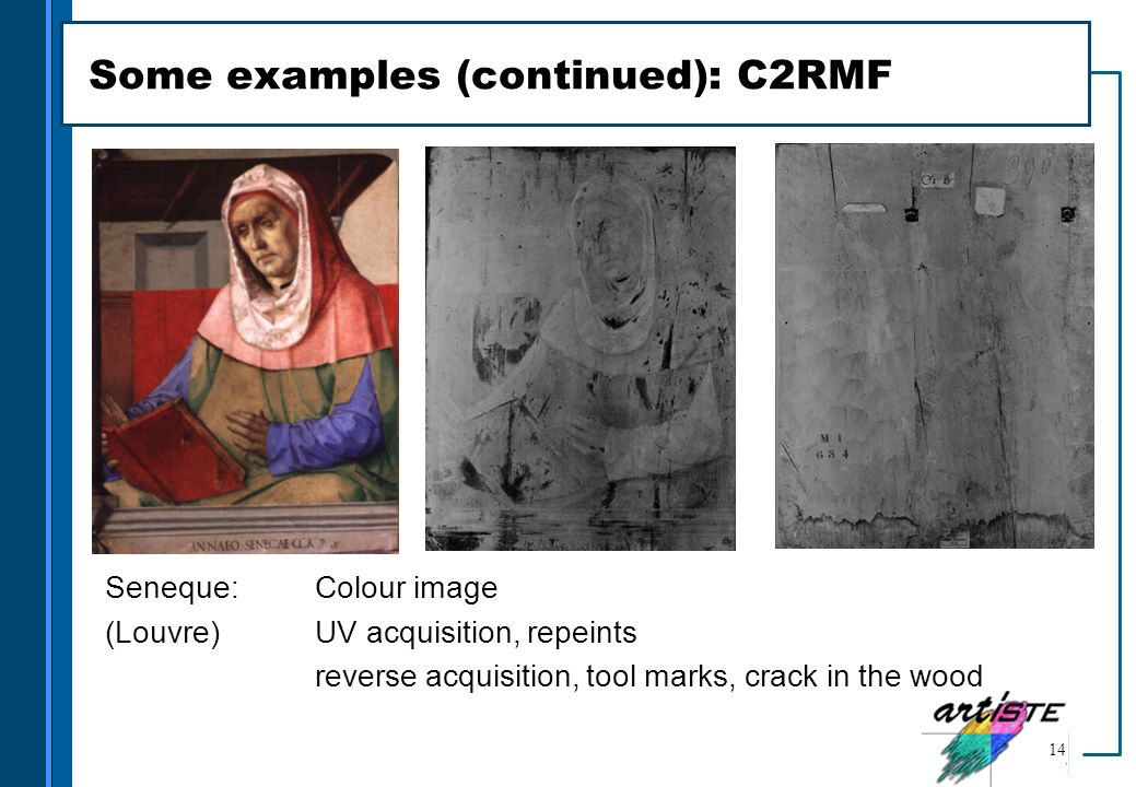 Some examples (continued): C2RMF