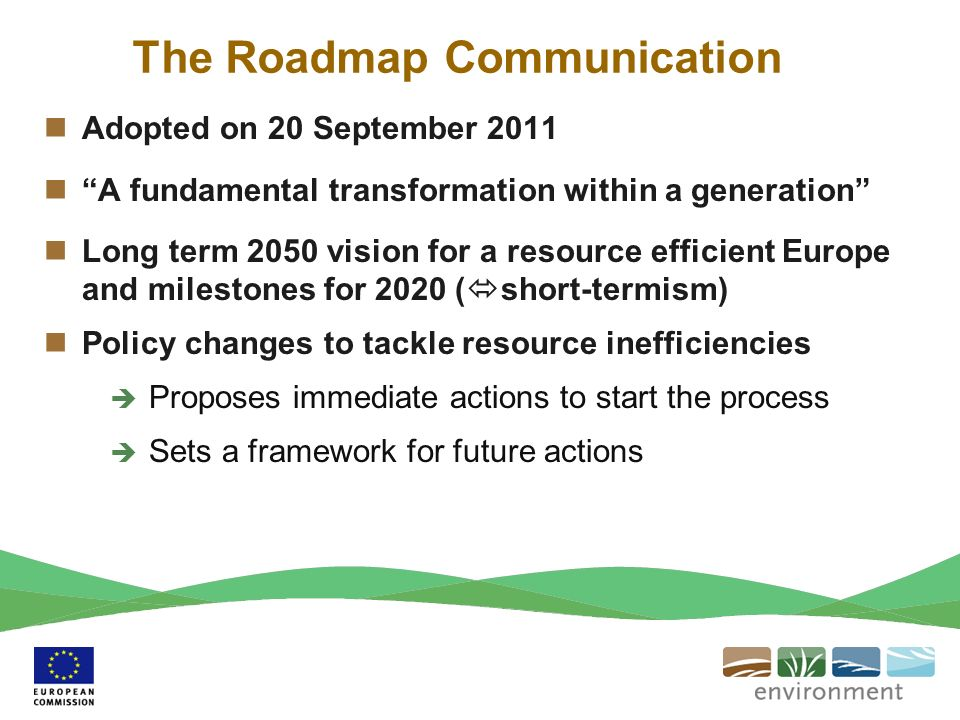 The Roadmap Communication