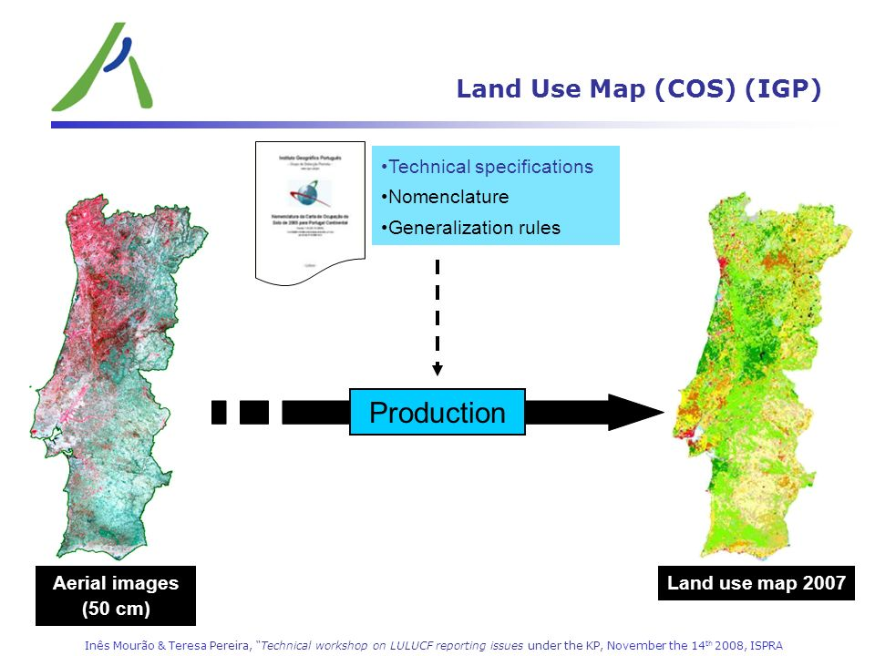 Land Use Map (COS) (IGP)