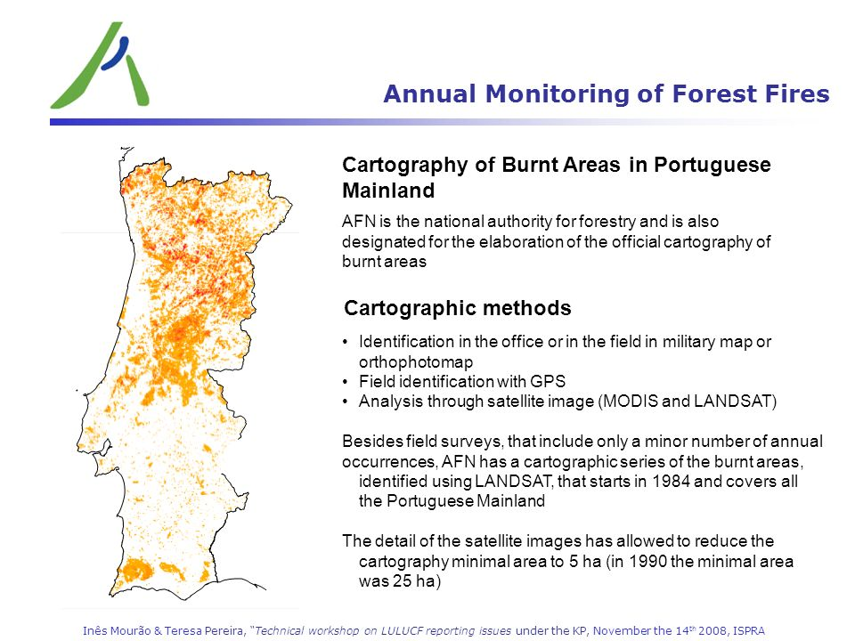 Annual Monitoring of Forest Fires