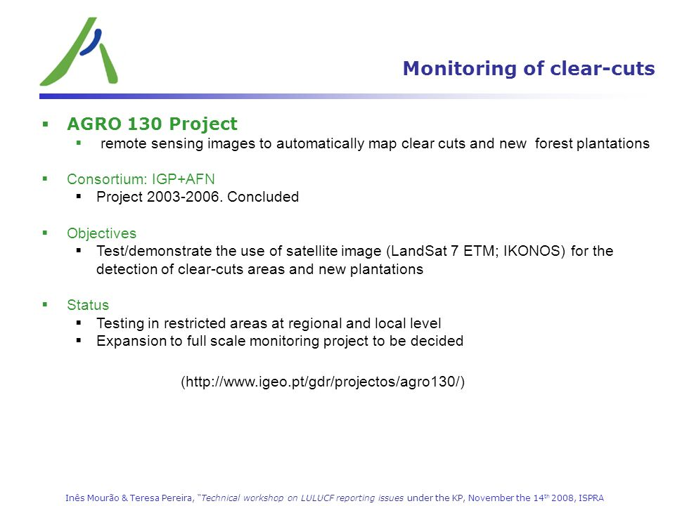 Monitoring of clear-cuts