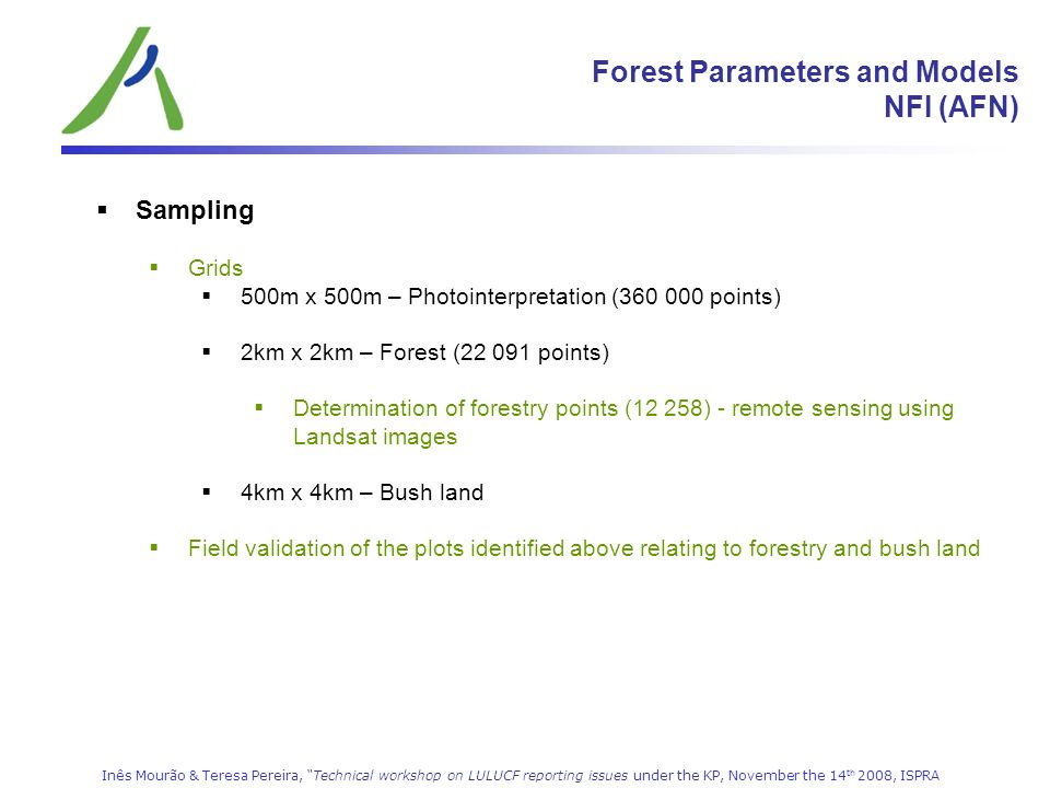 Forest Parameters and Models NFI (AFN)
