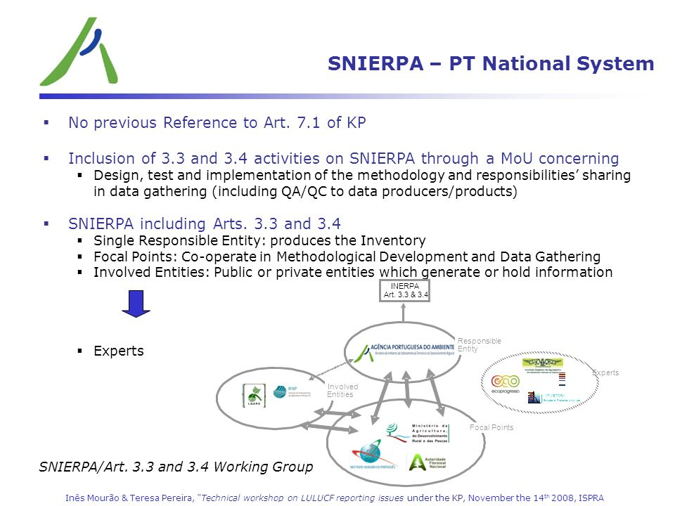 SNIERPA – PT National System