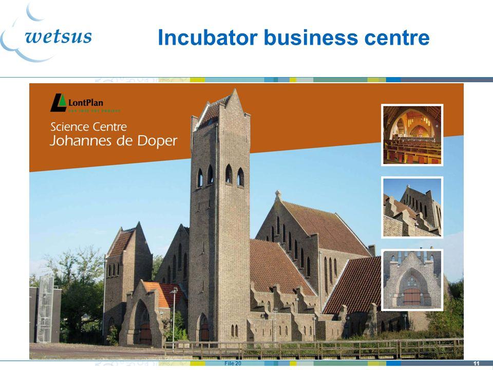 Incubator business centre