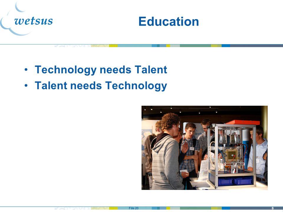 Education Technology needs Talent Talent needs Technology