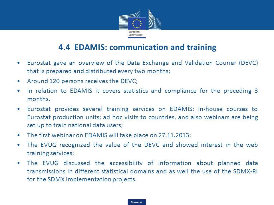 4.4 EDAMIS: communication and training