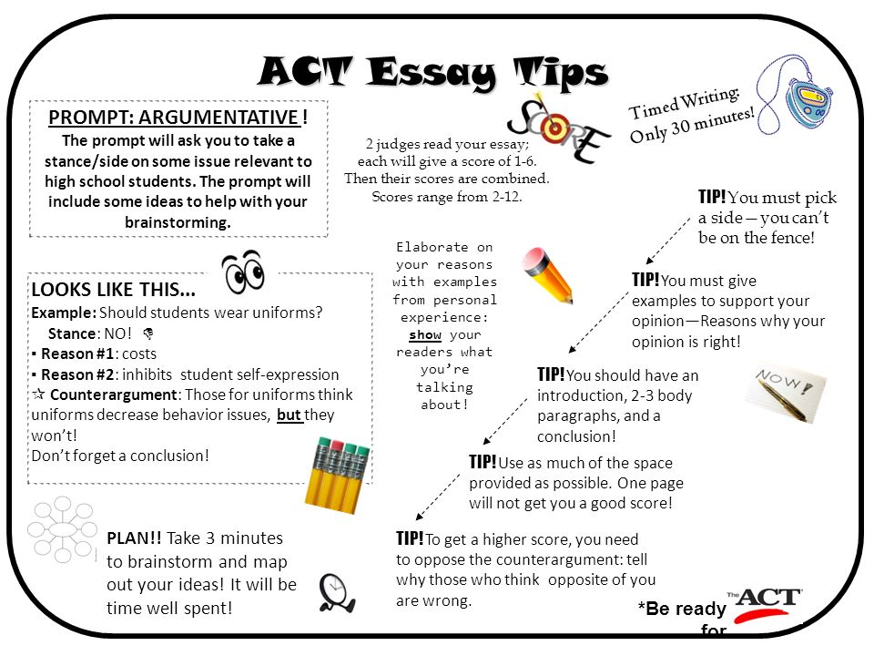 Tip for writing an essay