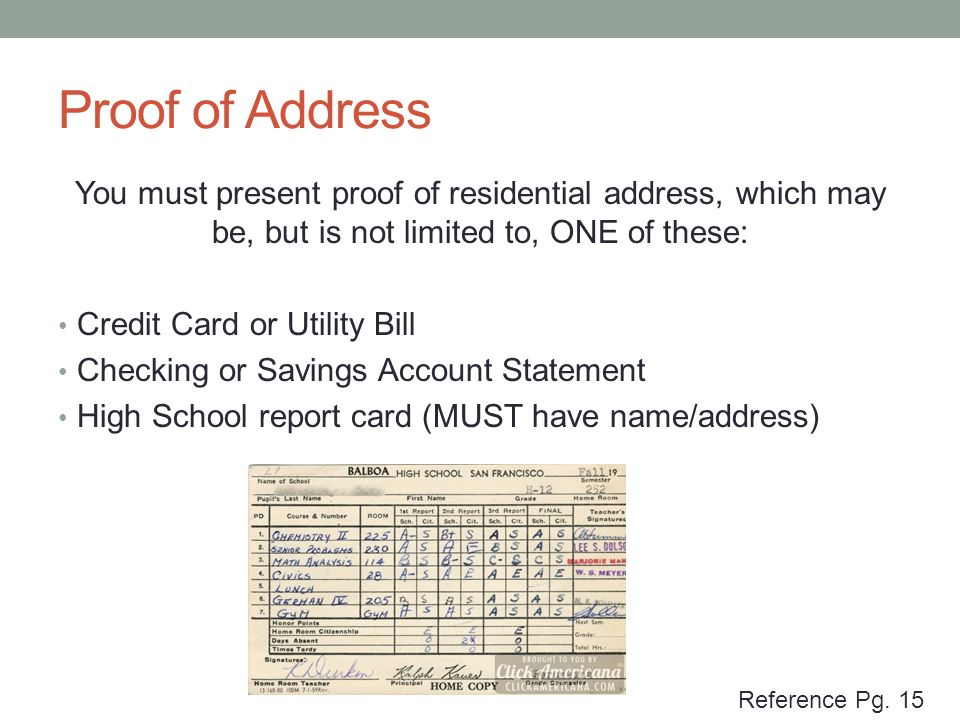 how to get proof of address online