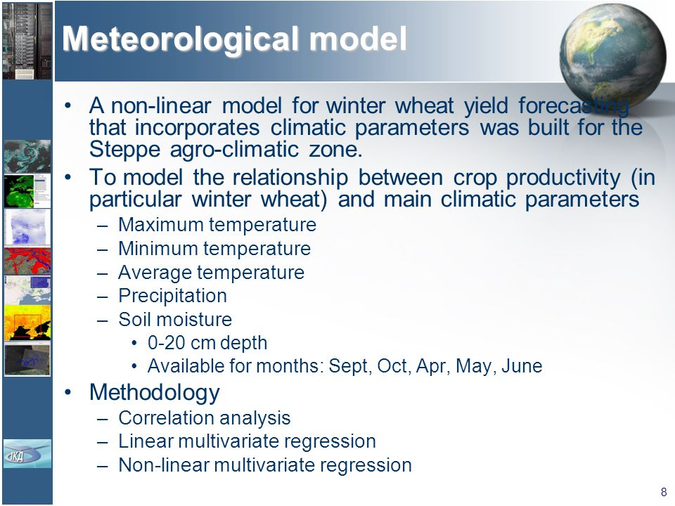 Meteorological model