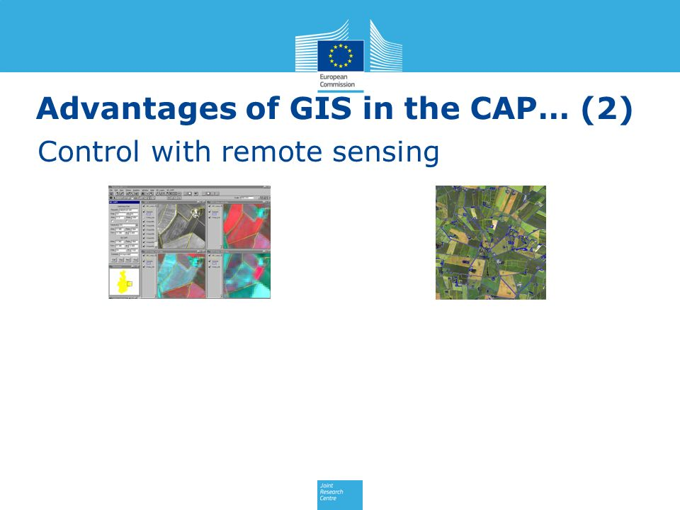 Advantages of GIS in the CAP… (2)