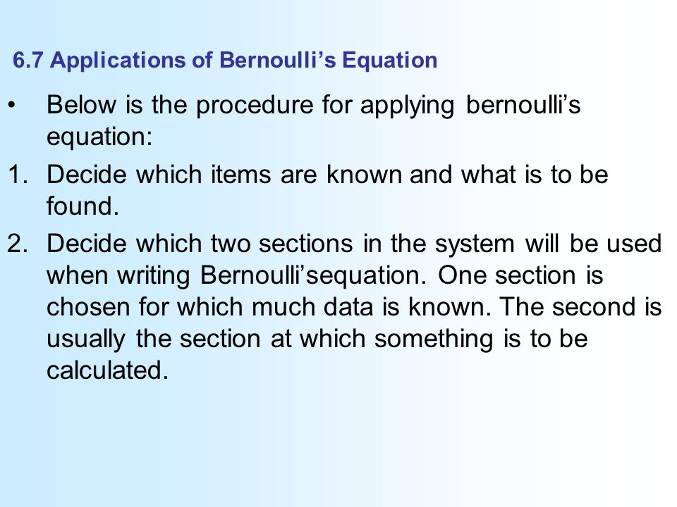 bernoulli 39 s principle for kids. 6.7 applications of bernoulli\u0027s equation bernoulli 39 s principle for kids