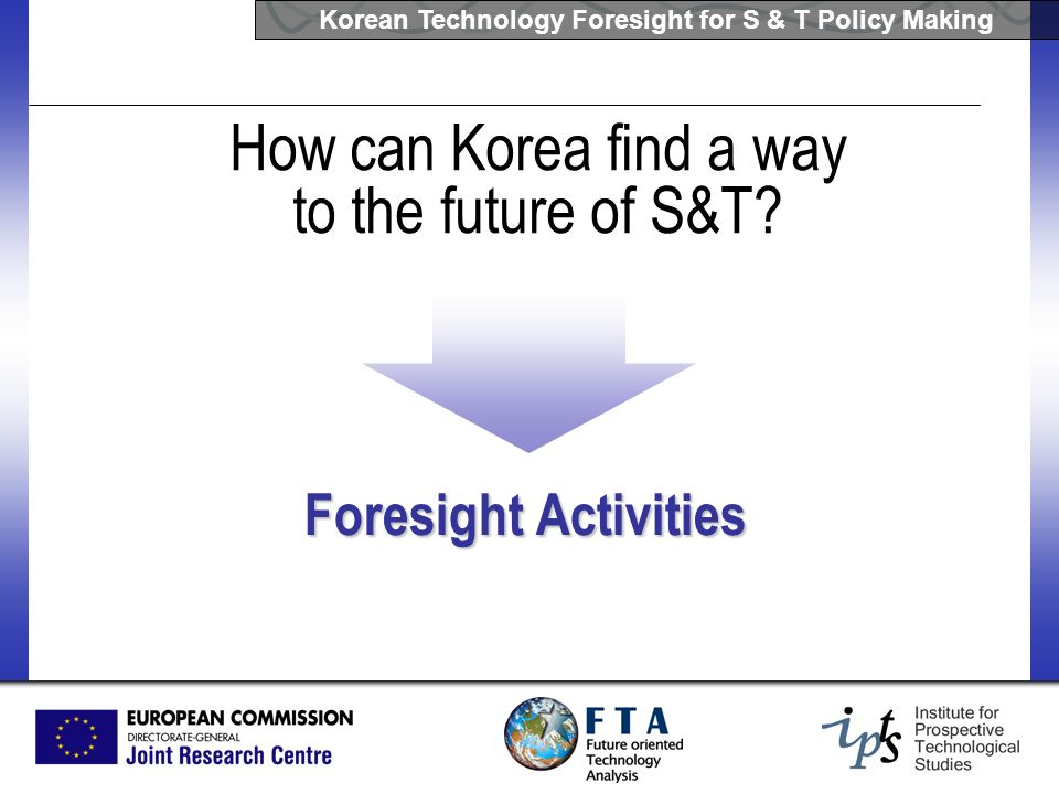 How can Korea find a way to the future of S&T