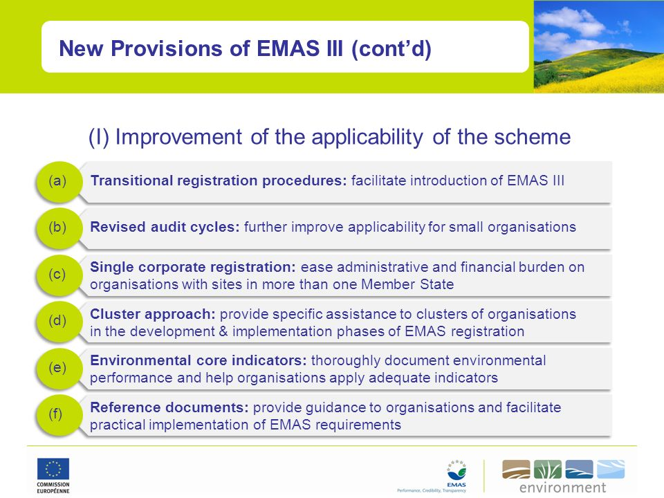 (I) Improvement of the applicability of the scheme