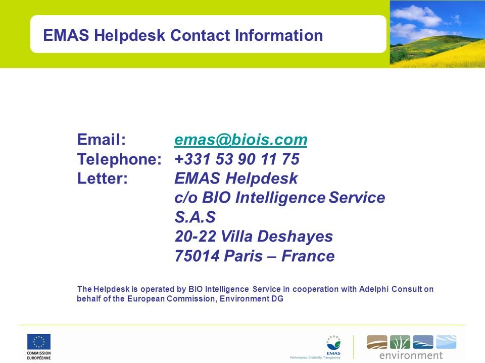 c/o BIO Intelligence Service S.A.S 20-22 Villa Deshayes