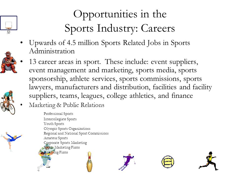 Typical Career Paths For Sports Marketing Some Are Lucky Enough Know Client On A Personal Level