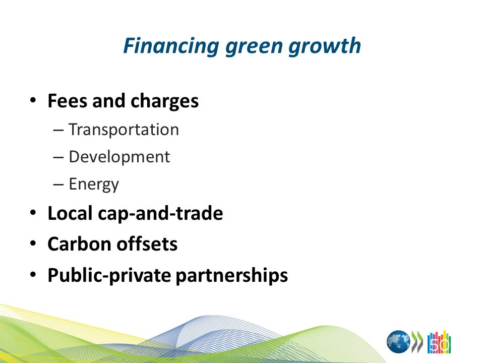 Financing green growth