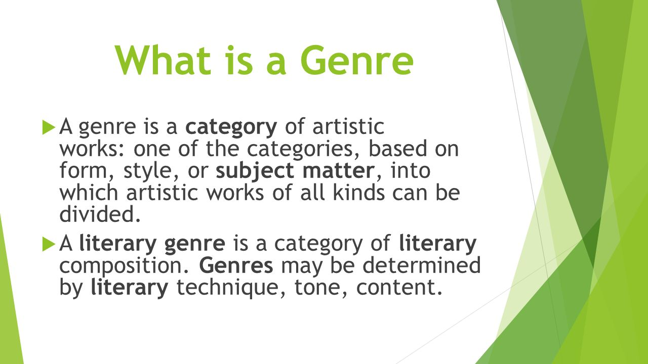 literary genre 3 essay In addition, the main types of literary genres will be described, with examples   a third broad literary genre is nonfiction if fiction is fake,  other examples  include journals, diaries, biographies, autobiographies, and essays.