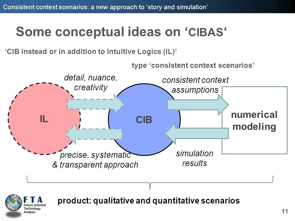 Some conceptual ideas on 'CIBAS'