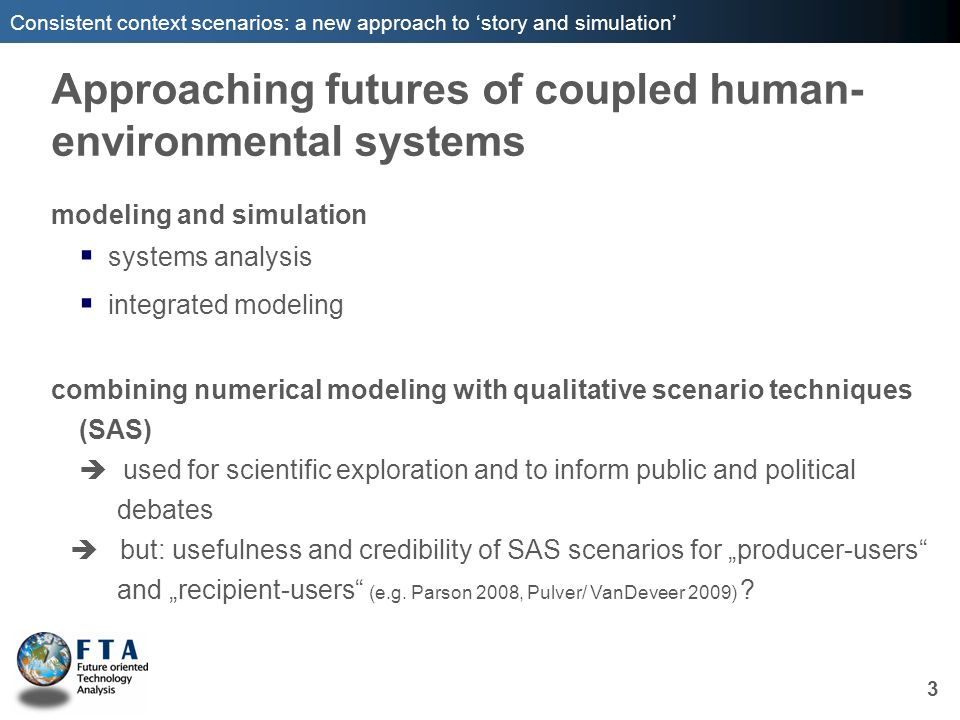 Approaching futures of coupled human-environmental systems